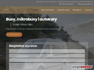 Busy na wynajem w Krakowie - Royal Bus
