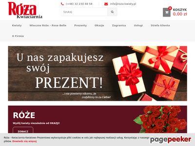 Róża Spółka z o.o. - dostawa kwiatów