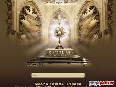 Przedmioty liturgiczne Sacrum