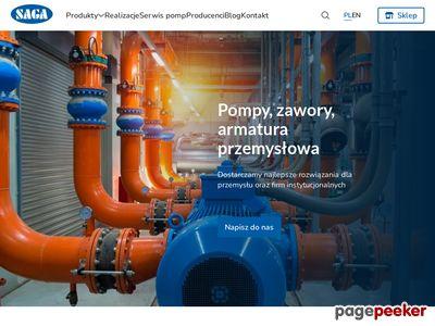 Armatura przemysłowa - saga.info.pl