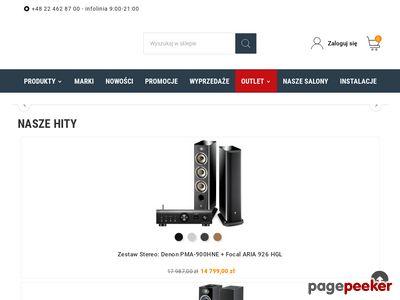 Miniaturka Specjalistyczne sklepy sprzętu audio - video