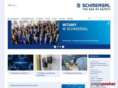 Bezpieczeństwo maszyn - schmersal.pl