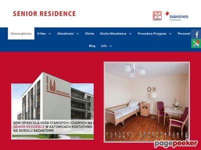 Senior Residence - dom pomocy społecznej, śląskie