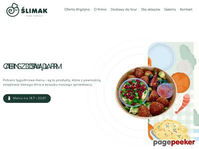 Ślimak Food Service s.c. - obsługa cateringowa