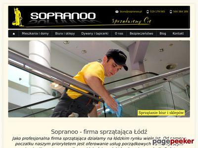 Sopranoo.pl - sprzątanie mieszkań i biur