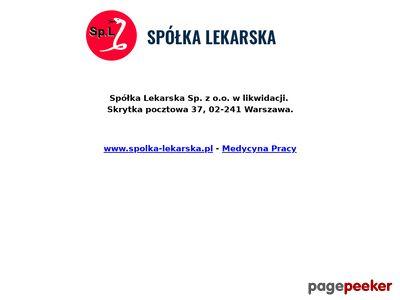 Spółka Lekarska Sp. z o.o. - medycyna pracy