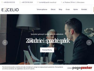 Usługi sprzedaży spółek z o.o. - spolki-excelio.pl