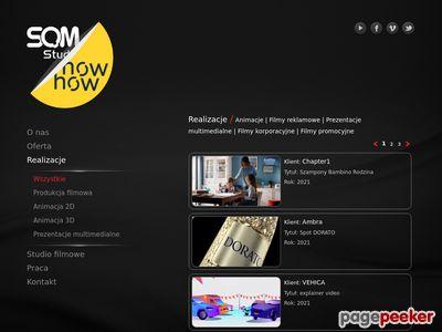 SQMStudio - Animacja 3D i filmy animowane