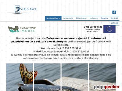 Ryby hodowlane - Gospodarstwo rybackie Starzawa
