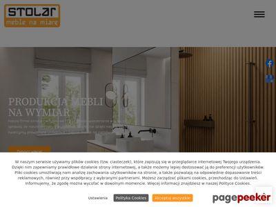 Stolar - produkcja mebli na wymiar Warszawa