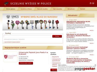 StudiaWyzsze.pl - Polska baza uczelni