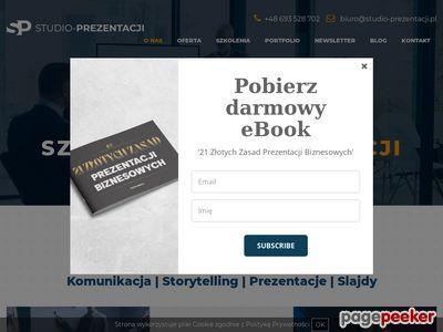 Studio-prezentacji.pl - Tworzenie prezentacji
