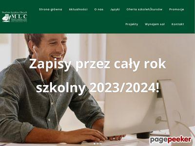 Studium Języków Obcych MLC Sp.j.
