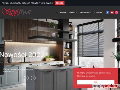 Fronty kuchenne firmy Stylfront