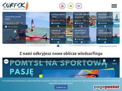 Wyjazdy szkoleniowe dla windsurferów, kitesurferów i surferów