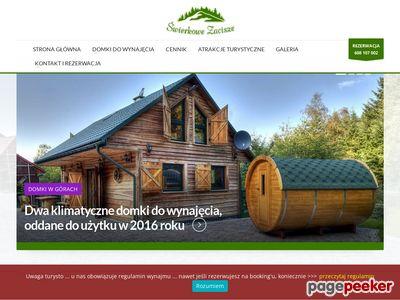Świerkowe Zacisze – klimatyczne, drewniane domki do wynajęcia w Beskidach