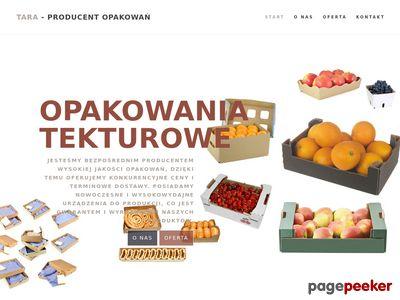 Opakowania tekturowe - tara.lublin.pl