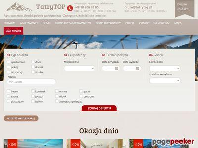 Domki Zakopane - tatrytop.pl
