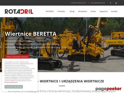 Terra Drill – wiernice do studni, sondy CPT i CPTU