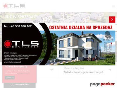 TLS Developer - domy na sprzedaż okolice Szczecina