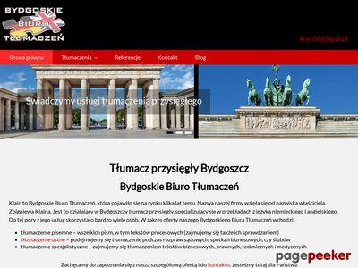 Bydgoskie Biuro Tłumaczeń - tłumaczenia prawnicze Bydgoszcz