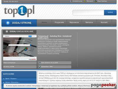 Katalog stron internetowych - TOP1.pl