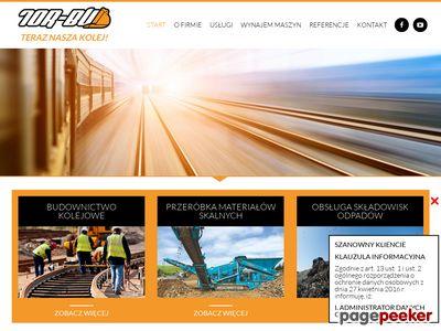 Tor Bud - remonty torów kolejowych