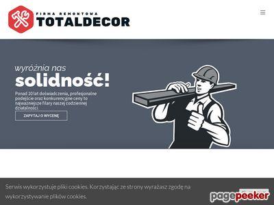 Firma remontowa Totaldecor - Remonty Kraków