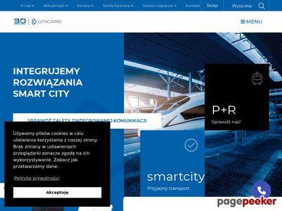 Unicard SA - kontrola dostępu, rejestracja czasu pracy, karty plastikowe.