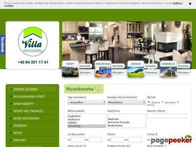 Domy i mieszkania do wynajęcia - villa-nieruchomosci.pl
