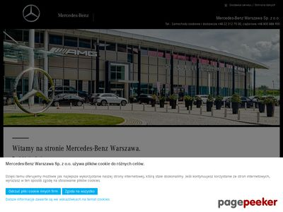 Mercedes-Benz Warszawa - Mercedes, testowe
