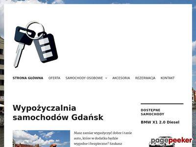 wynajem samochodów Gdańsk lotnisko