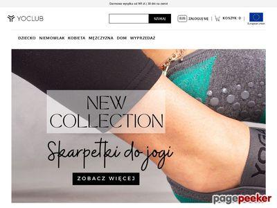 Producent odzieży dziecięcej Yo! - yoclub.pl