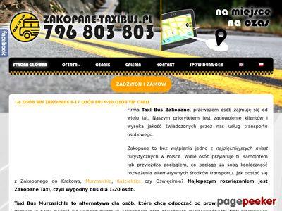 Taxi Zakopane | zakopane-taxibus.pl