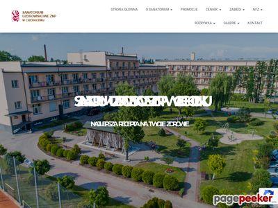 Sanatorium ZNP Ciechocinek - pobyty prywatne i NFZ