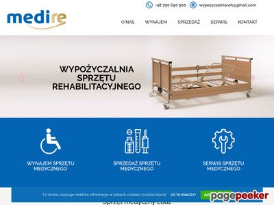 Wynajem łóżka rehabilitacyjnego - wynajemsprzetumedycznego.pl