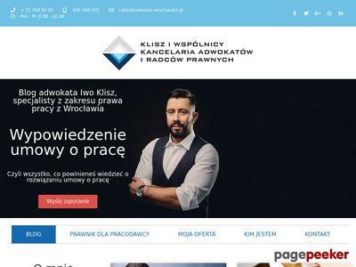 Adwokat - prawo pracy we Wrocławiu