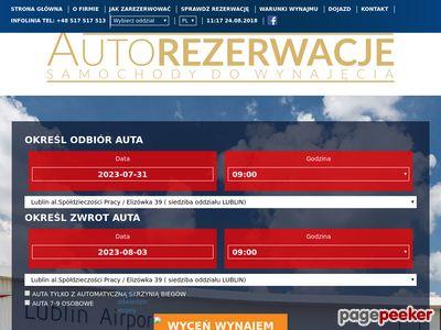 Wypozyczalania samochodów Lublin - Wypozyczalniasamochodow.zlublina.pl/