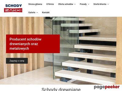 Zakki - schody metalowe Gdańsk