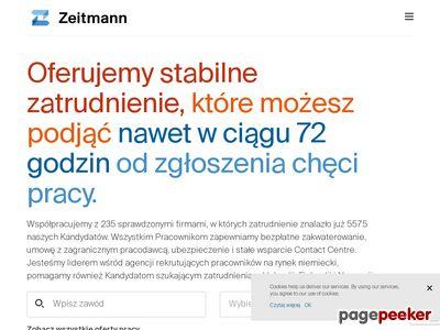 Agencja Zatrudnienia w Niemczech - Zeitmann