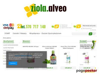 Zioła Alveo dla dzieci