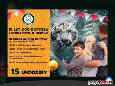 Zoo Safari Borysew - zwierzęta egzotyczne