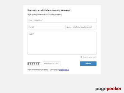Strona www firmy AMS - Zarządzanie Rachunkowością