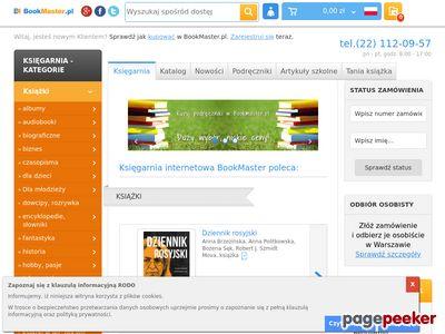 Strona www firmy BookMaster.pl