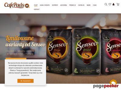 Strona www firmy CafePads.pl