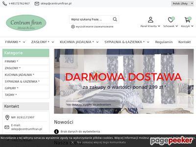 Oferta i dane firmy CentrumFiran.pl