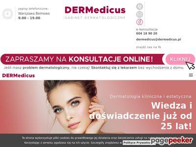 Oferta i dane firmy Dermedicus