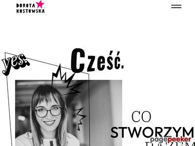 Strona www firmy Dorota Kostowska
