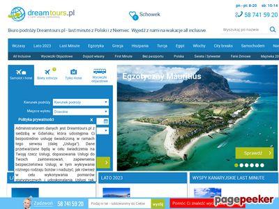 Oferta i dane firmy Dreamtours.pl