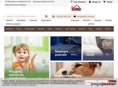 Strona www firmy KARO